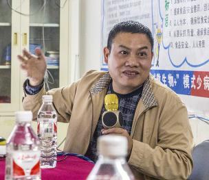图文:养猪分会领导专家走访广西助农畜牧科技有限公司