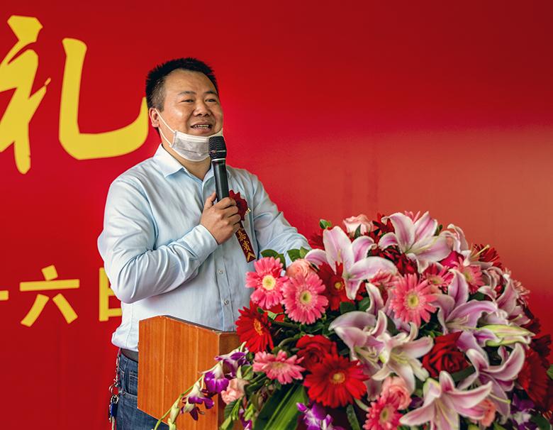 图文:广西柯新源原种猪有限责任公司武鸣核心育种场开工建设